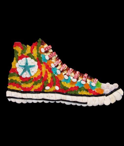 composition bonbons chaussure converse