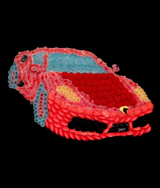 composition bonbons voiture ferrari