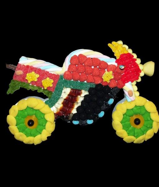 composition bonbons moto