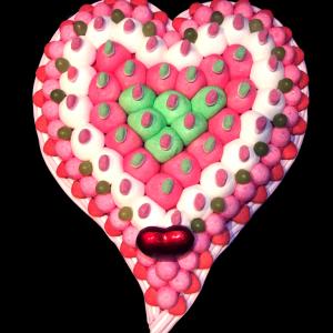 coeur bonbons