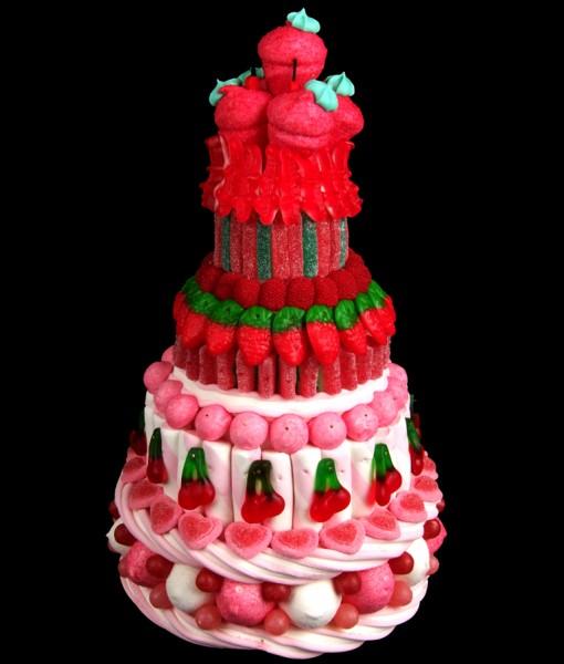 pièce montée fraise tagada haribo