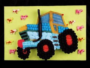 tracteur bonbons